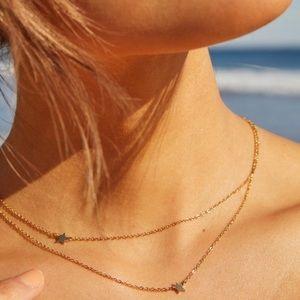 Jennifer Zeuner Jewelry Stars ⭐️ Necklace